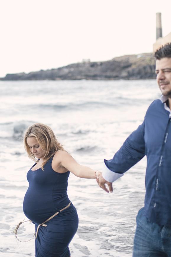 Fotografía de embarazo - Tindaya