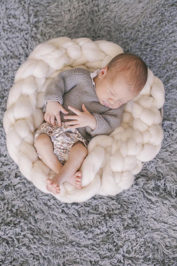 fotografía de bebé - Liam